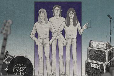 Rush recuerda a Neil Peart en nueva animación