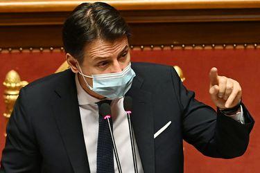 Giuseppe Conte anuncia que renunciará este martes como primer ministro de Italia