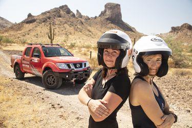 Nissan destapa la camioneta Frontier by Nismo para competir en el Rebelle Rally