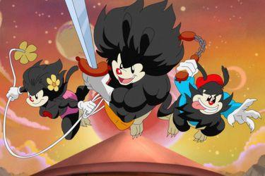 Yakko, Wakko y Dot se transforman en los Thundercats en el primer vistazo a la segunda temporada de Animaniacs