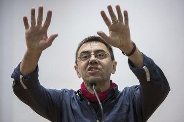 MONEDERO APOYA A PABLO IGLESIAS EN VALENCIA