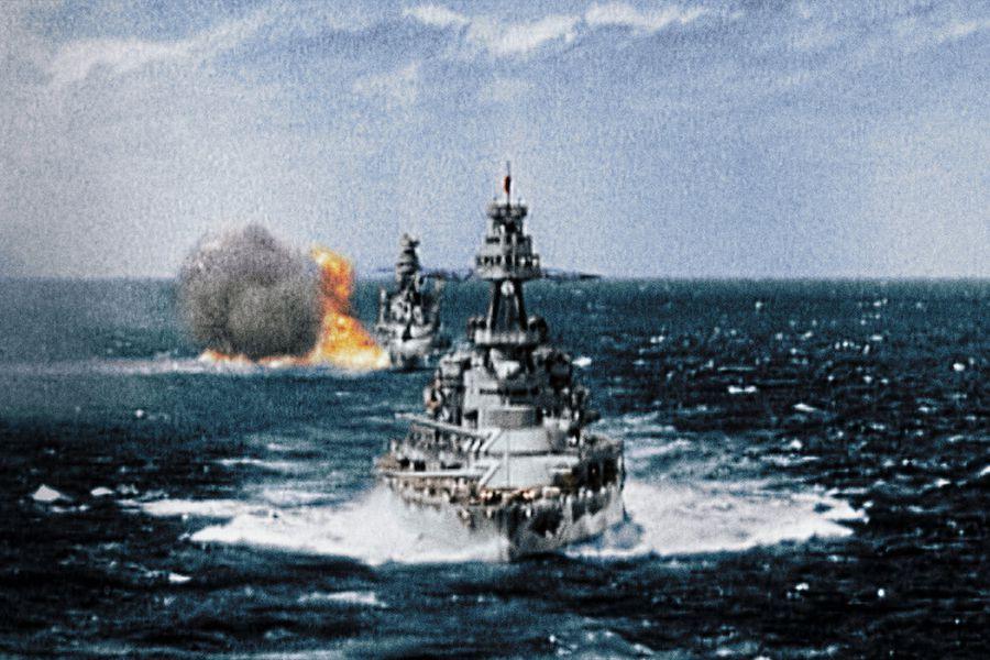 Eventos de la Segunda Guerra Mundial a todo color