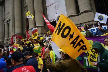 Manifestación NO más AFP