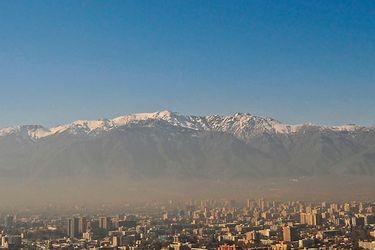 Intendencia declara Preemergencia Ambiental por calidad del aire para este domingo en la Región Metropolitana