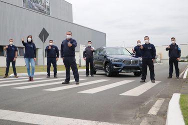 BMW celebra las 70 mil unidades de vehículos producidos en Brasil