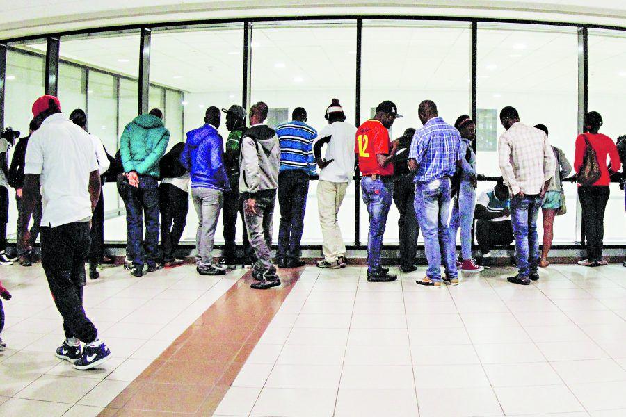 Inmigrantes Haitianos llegan a chile