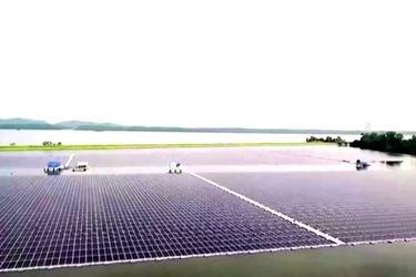 Presentan una de las plantas fotovoltaicas flotantes más grande del mundo