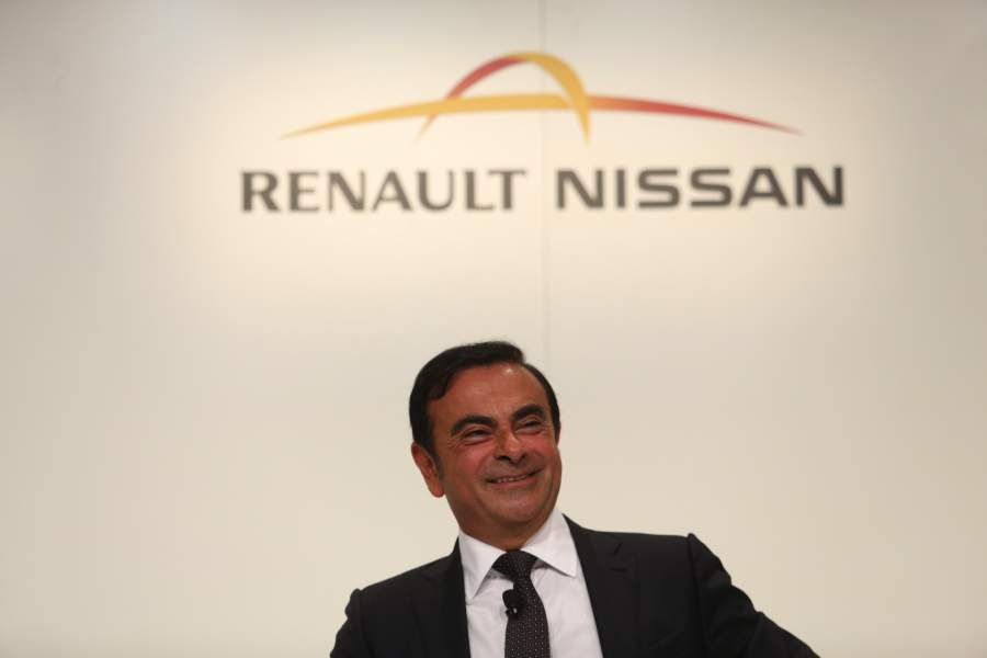File: Nissan's Ghosn To Be Arrested On Suspected Financial Law