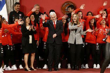 Sebastián Piñera, Pauline Kantor, Isabel Plá