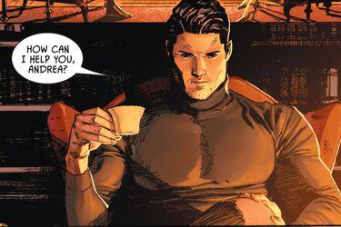 Andrea Beaumont conversa con Bruce Wayne en un nuevo adelanto de Batman/Catwoman #1