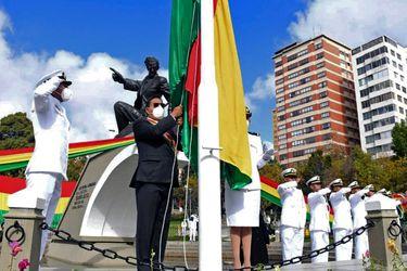 """Presidente de Bolivia pide retomar el diálogo con Chile y asegura que demanda marítima es un tema """"pendiente"""""""