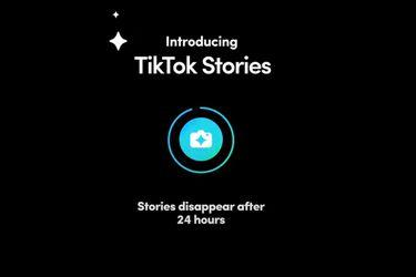 TikTok está probando una función para publicar historias