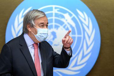 """Guterres pide 6.900 millones al G-20 para paliar la """"tragedia de la desigual distribución"""" de las vacunas"""