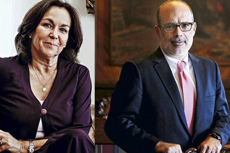 Alejandra Krauss y Rodrigo Valdés