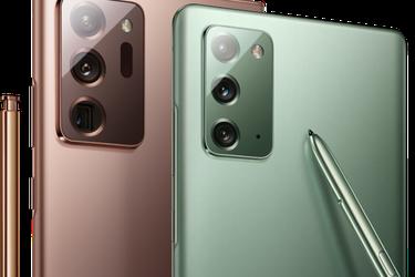 Samsung se vuelca a los videojuegos: así son los nuevos Galaxy Note20 y Note20 Ultra