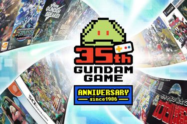 Bandai Namco lanza un sitio por el 35° aniversario de los juegos de Gundam