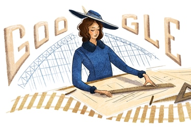Google homenajea a Justicia Espada Acuña, primera ingeniera civil de Chile