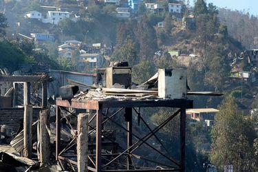 Incendio Valparaíso