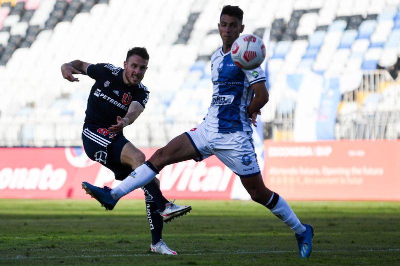 Ángelo Henríquez desperdició muchas oportunidades de gol frente a Deportes Antofagasta. Foto: AgenciaUno.