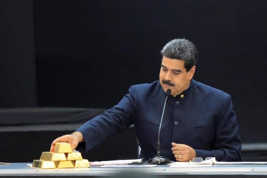 Maduro oro venezuela