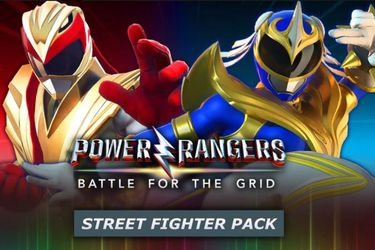 Power Rangers: Battle for the Grid tendrá un crossover con Street Fighter