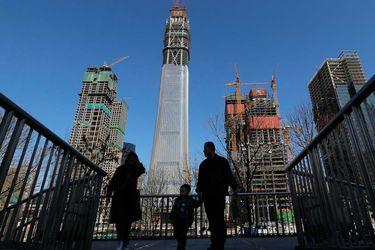 China, construcción