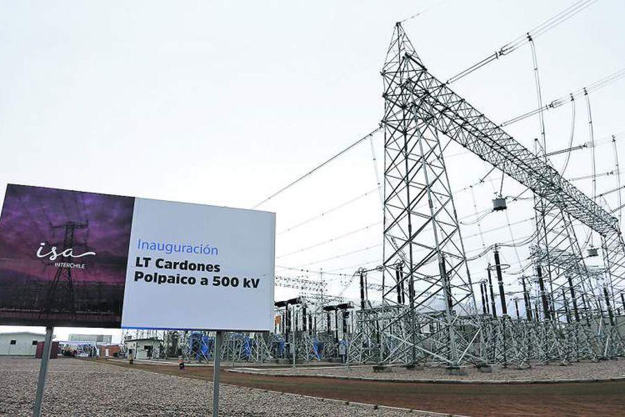 COPIAPO:Imagenes de la  inaugura la l'nea de transmisi—n elŽctrica Cardones Polpaico