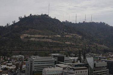 ¿Qué están construyendo en la ladera sur del Cerro San Cristóbal?