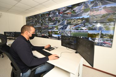 Seguridad e innovación Enel X en Quinta Normal