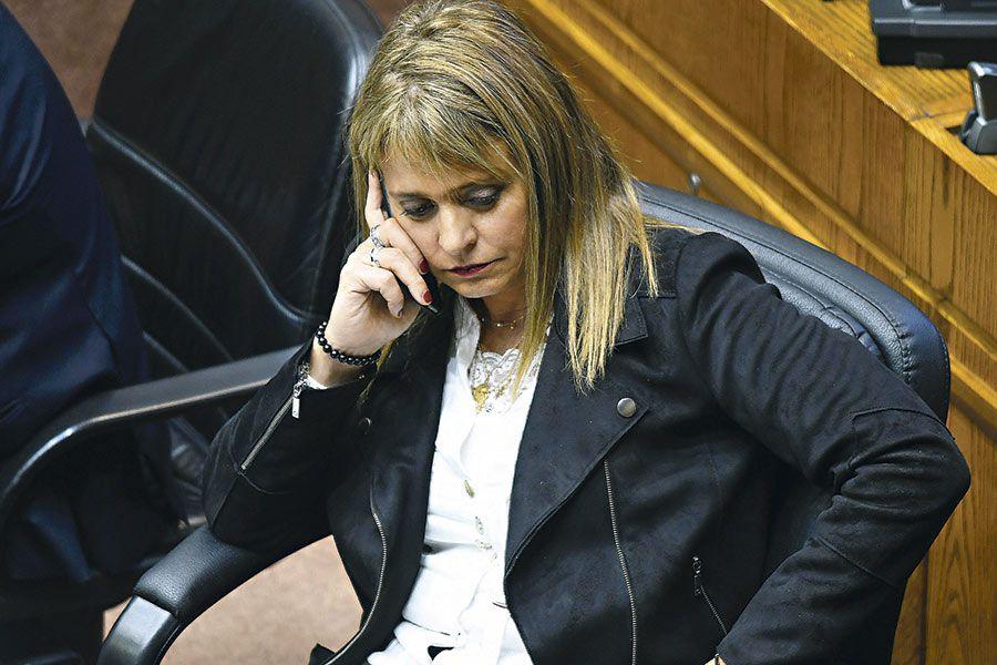 La presidenta de la UDI Jacqueline Van Rysselberghe. Foto: Agenciauno.