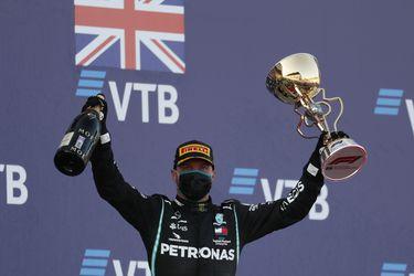 Bottas se queda con el Gran Premio de Rusia