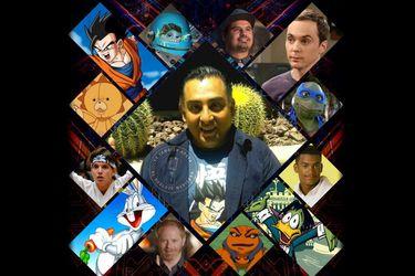 Asesinaron a Luis Alfonso Mendoza, la voz de Gohan, Joey y Sheldon
