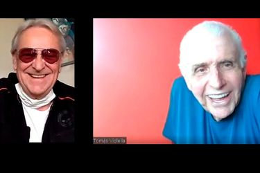 """Coco Legrand anuncia su retiro y desmenuza con Tomás Vidiella el éxito online de Viejos de Mierda: """"Fue una obra premonitoria"""""""