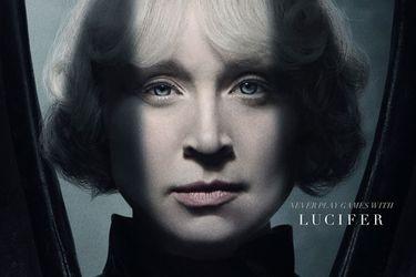 Netflix reveló el primer vistazo a Gwendoline Christie como Lucifer en la serie de Sandman