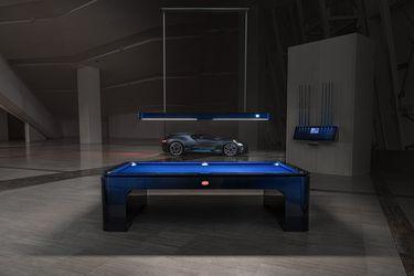 Solo 30 unidades: Bugatti presenta su exclusiva mesa de pool, hecha artesanalmente