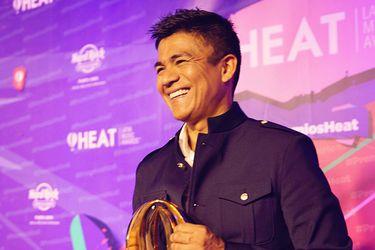 Américo es el primer artista chileno en obtener un Premio Heat