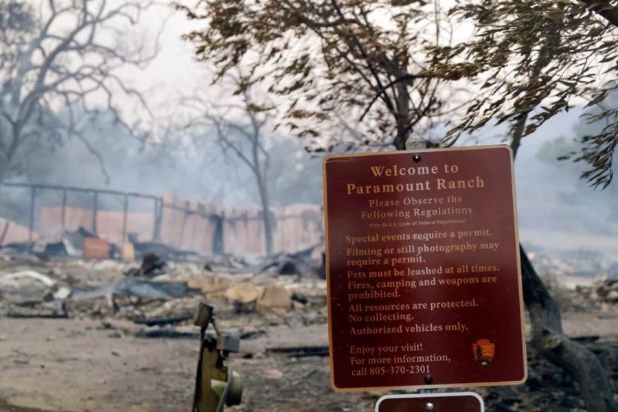 incendio Paramount Ranch