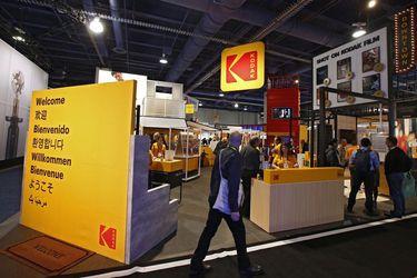 Las acciones de Kodak caen a medida que se congela el préstamo planificado de US$765 millones