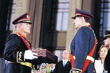 Traspaso de mando del Ejercito de Chile