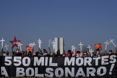 Brasil supera las 550.000 muertes por coronavirus desde el inicio de la pandemia