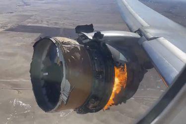 Se retiran para inspección 128 aviones Boeing 777, luego de que pedazos de un motor cayeran sobre un pequeño pueblo