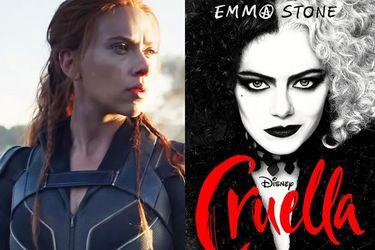Black Widow y Cruella se estrenarán con un arriendo premiere en Disney+ al mismo tiempo que en cines