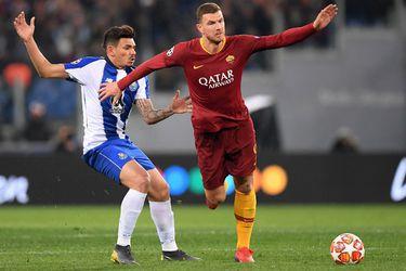 La Roma le gana al Porto, pero la llave continúa abierta