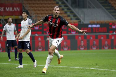 El Milan bate a un Bologna sin Medel gracias a Zlatan
