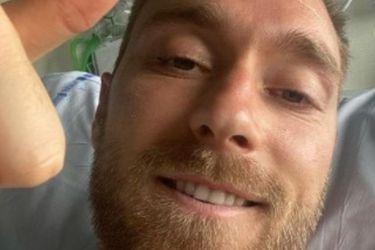 """Eriksen, desde el hospital: """"Estoy bien, dadas las circunstancias"""""""