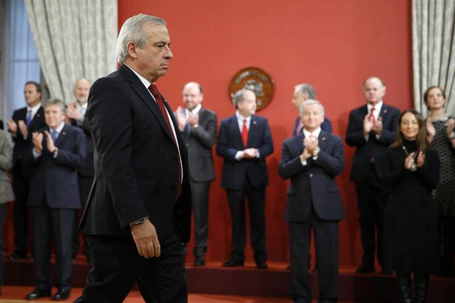 Cambio de Gabinete del Presidente de la Republica. 13/06/19
