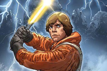 Luke Skywalker estrenará un nuevo lightsaber amarillo en los cómics de Star Wars