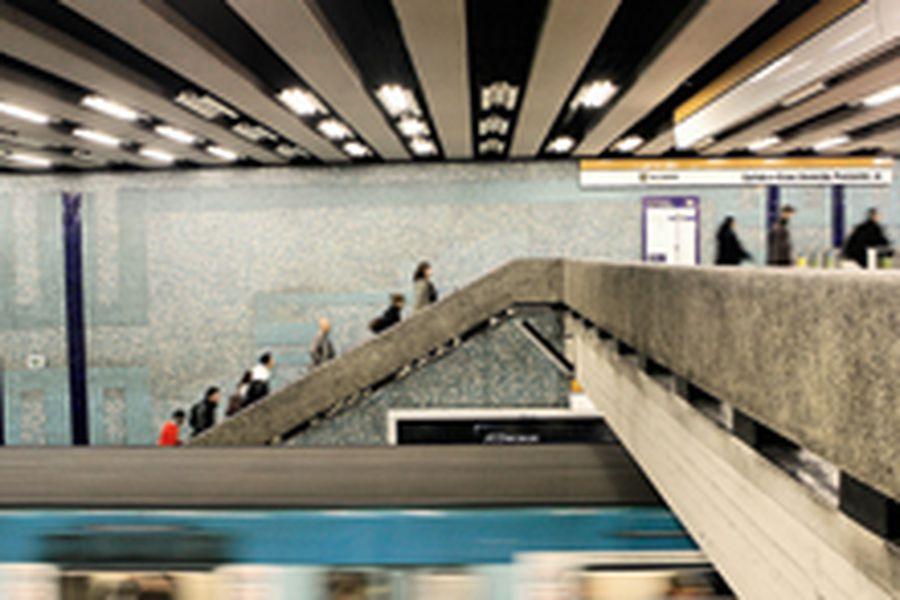 Mosaicos Metro de Santiago
