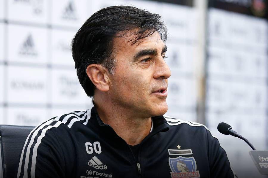 Gustavo Quinteros negó sostener conflictos con la dirigencia de Colo Colo.