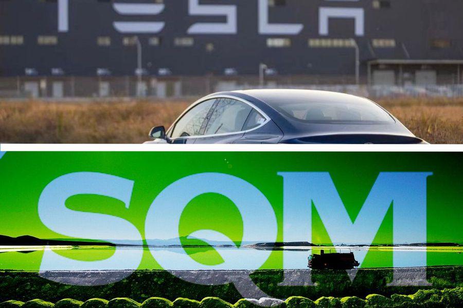 Se diluyen las preocupaciones por impacto de los planes de Tesla para producir su propio litio y acciones de SQM se disparan
